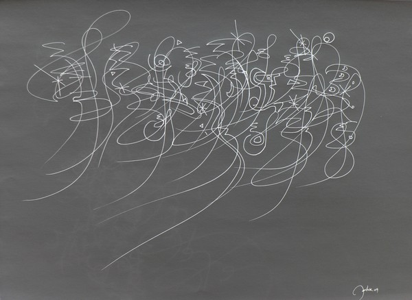 sketch graffiti abstract expressionist